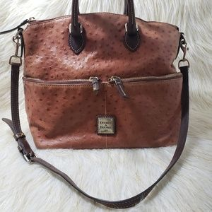 Dooney & Bourke Ostrich Leather Handbag